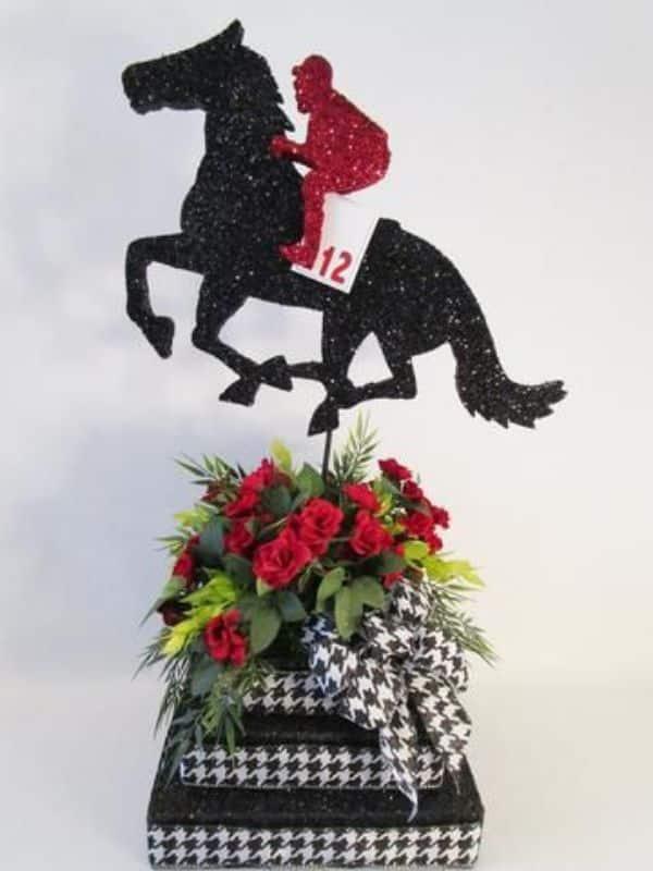 centros de mesa con caballos ideas