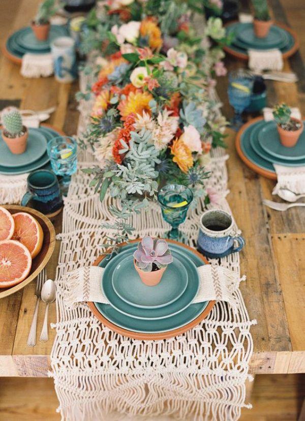 suculentas para centros de mesa para bodas