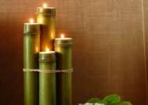 4 formas de hacer arreglos de mesa con bambu