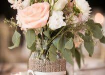 4 ideas para centros de mesa con mason jars