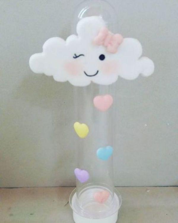 adornos de lluvia de amor para baby showers
