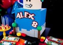 3 métodos para hacer una decoracion de cumpleaños de roblox