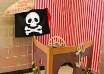 2 ejemplos para decoracion de piratas para niños
