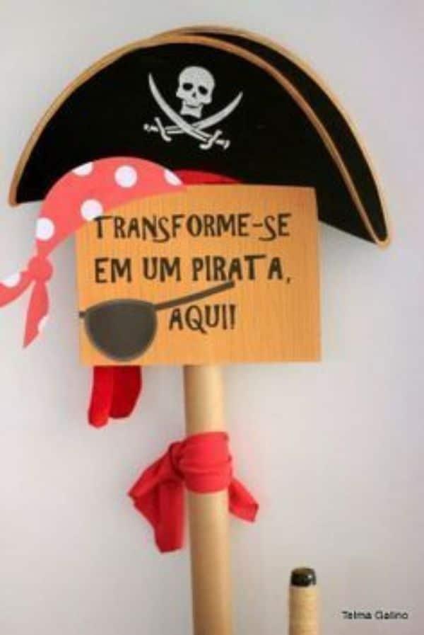 Decoracion de piratas para niños en casa