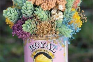 2 formas de armar unos centros de flores secas originales