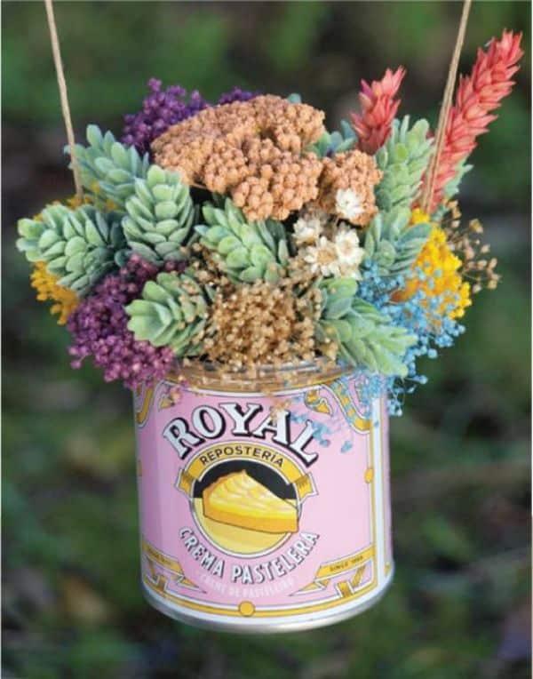 centros de flores secas originales lindas