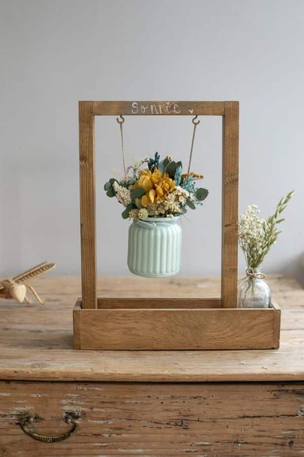 centros de flores secas originales simples