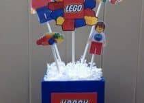 2 super ideas para centros de mesa de lego