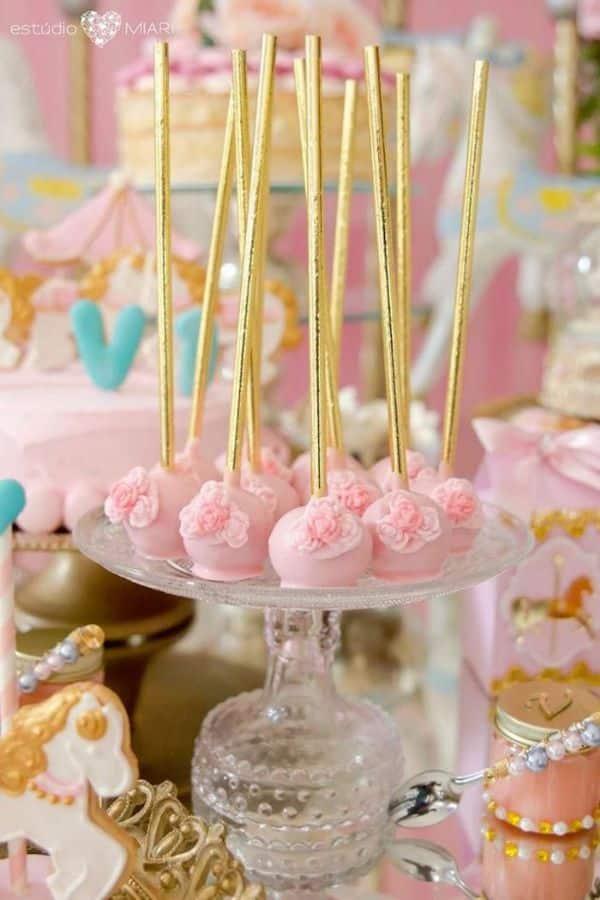 decoracion de princesas para cumpleaños dulces