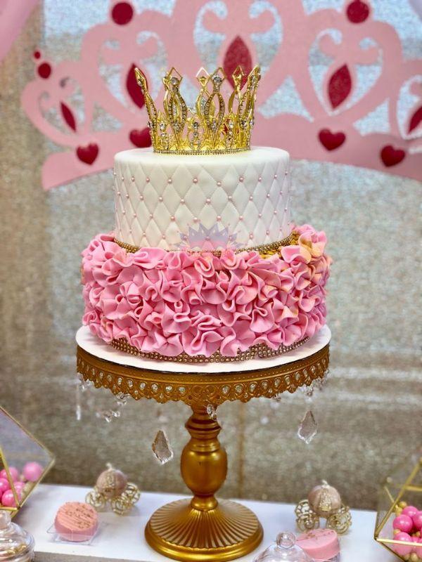 decoracion de princesas para cumpleaños pasteles