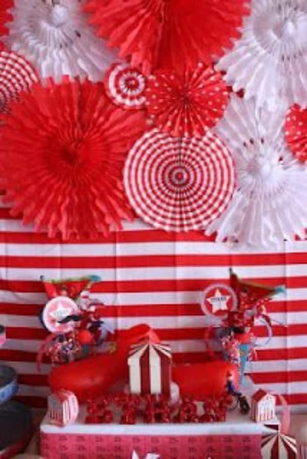 decoracion fiestas patrias peru en casa