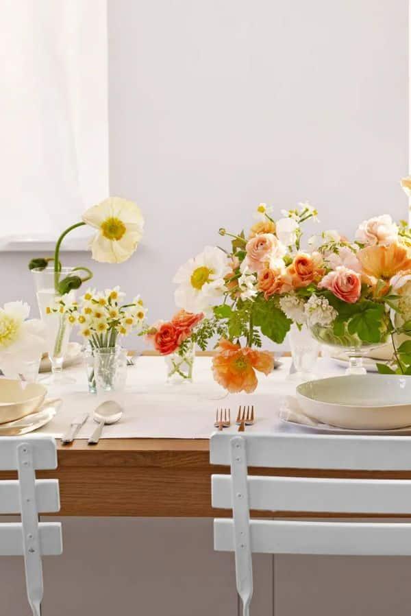 manteles de centro de mesa para bodas