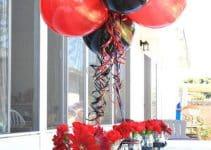 2 estilos de centro de mesa de miraculous para fiesta de niña