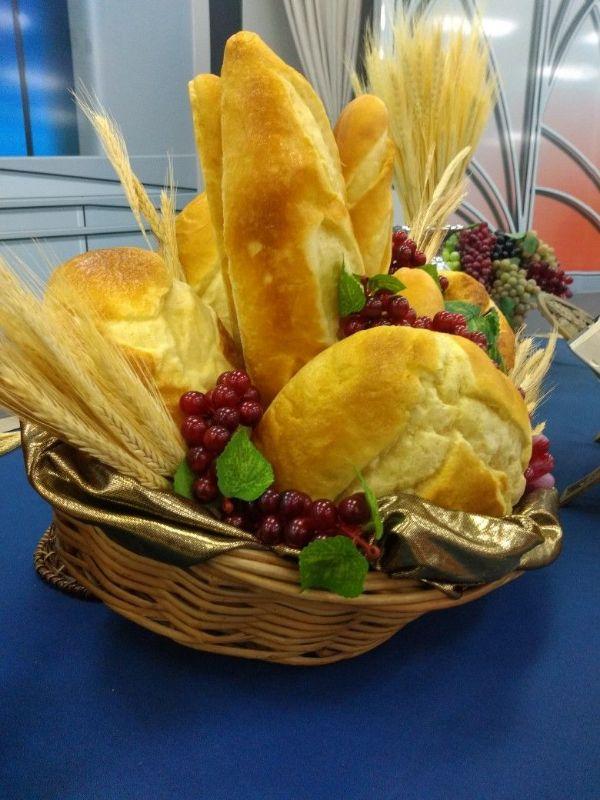 centros de mesa para la abundancia con trigo