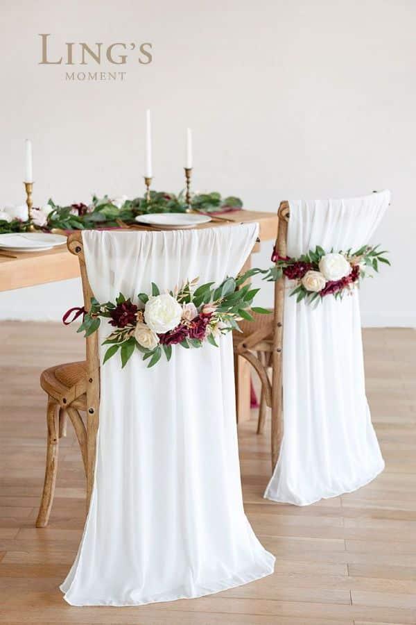 decoración de bodas sencillas mesa