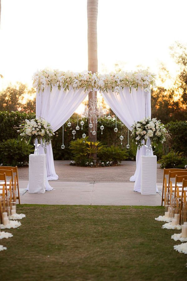 decoración de bodas sencillas para el casamiento