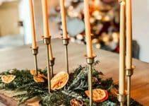 2 ideas para armar una decoracion de mesa de navidad