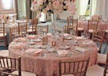 3 ideas para armar decoraciones de mesas para 15 años