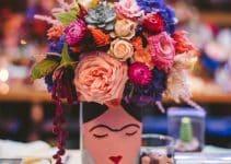4 centros de mesa frida kahlo para decorar cualquier fiesta